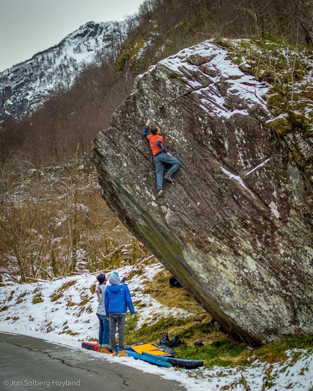 photographer: Jon Solberg Høyland, in photo: Endre Sandø Evensen